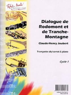 Claude-Henry Joubert - Rodomont and Tranche-Montagne Dialogue - Partition - di-arezzo.co.uk