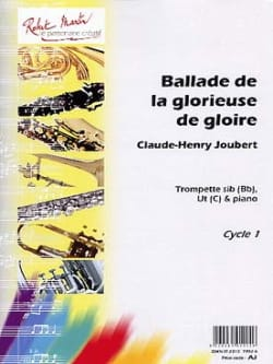 Claude-Henry Joubert - Ballad of the Glorious Glory - Partition - di-arezzo.co.uk