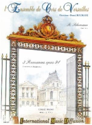 3 Romances Opus 94 - SCHUMANN - Partition - Cor - laflutedepan.com