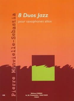8 Duos jazz - Sebastia Pierre Minvielle - Partition - laflutedepan.com