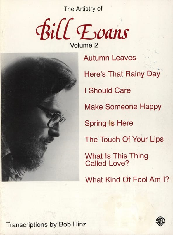 Bill Evans - The Artistry Of Bill Evans Volume 2 - Partition - di-arezzo.co.uk
