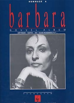 Barbara - Tribute to Barbara - Partition - di-arezzo.co.uk