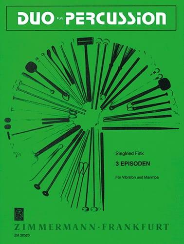 3 Episoden - Siegfried Fink - Partition - laflutedepan.com