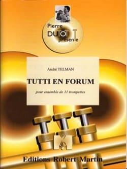 Tutti En Forum - André Telman - Partition - laflutedepan.com
