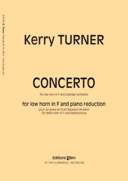 Kerry Turner - Concerto - Partition - di-arezzo.co.uk