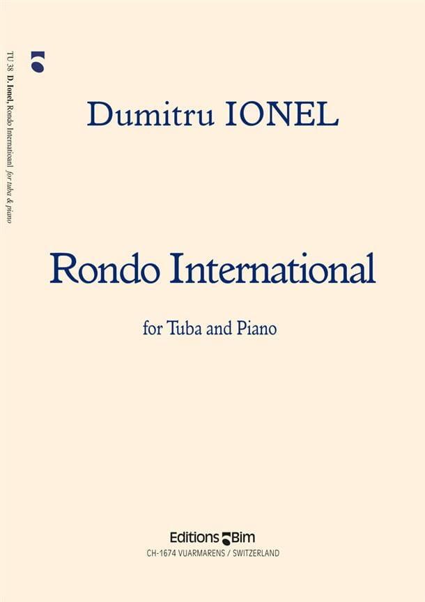 Dumitru Ionel - Rondo International - Partition - di-arezzo.com