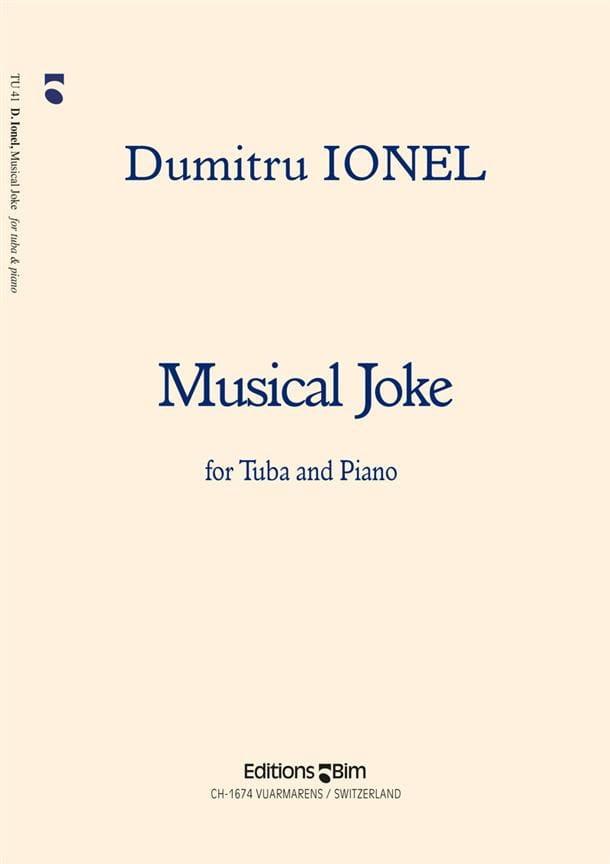 Dumitru Ionel - Musical Joke - Partition - di-arezzo.com