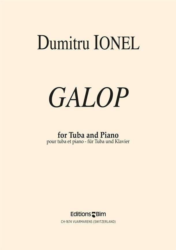 Dumitru Ionel - Gallop - Partition - di-arezzo.com