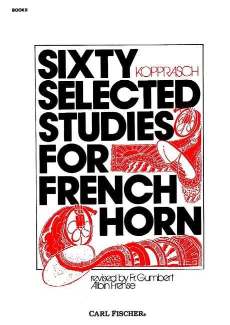 60 Selected Studies For French Horn Book 2 - laflutedepan.com