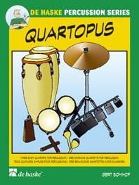 Quartopus - Bert Bomhof - Partition - laflutedepan.com