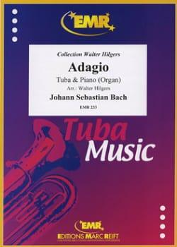 Adagio - BACH - Partition - Tuba - laflutedepan.com