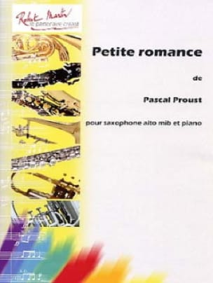 Petite romance - Pascal Proust - Partition - laflutedepan.com