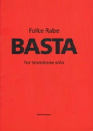 Basta - Folke Rabe - Partition - Trombone - laflutedepan.com