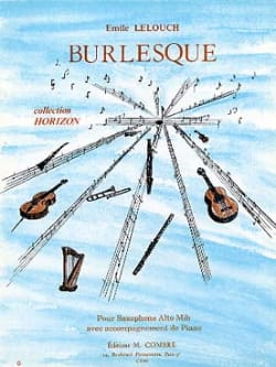 Emile Lelouch - Burlesque - Partition - di-arezzo.co.uk