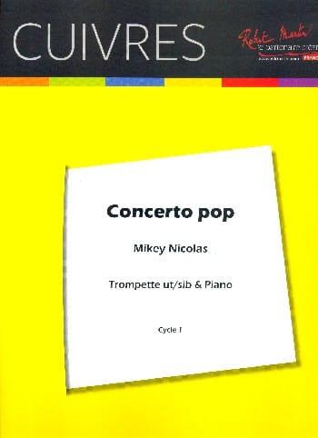 Concerto Pop - Mickey Nicolas - Partition - laflutedepan.com