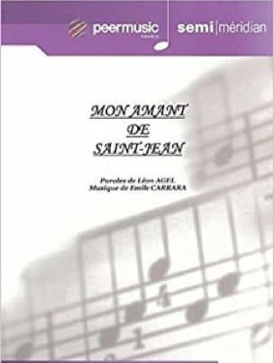 Mon Amant de Saint-Jean - Emile Carrara - Partition - laflutedepan.com