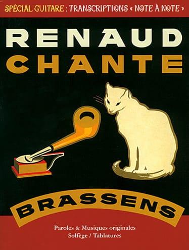 Renaud Chante Brassens - RENAUD - Partition - laflutedepan.com