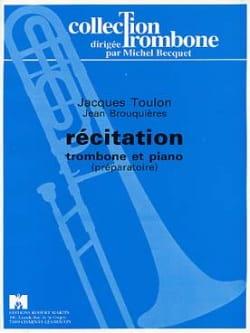 Jacques Toulon - recitación - Partition - di-arezzo.es