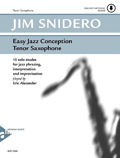 Jim Snidero - Easy jazz design - 15 solo studies - Partition - di-arezzo.co.uk