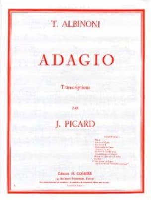 Tomaso Albinoni - Adagio - Partition - di-arezzo.com