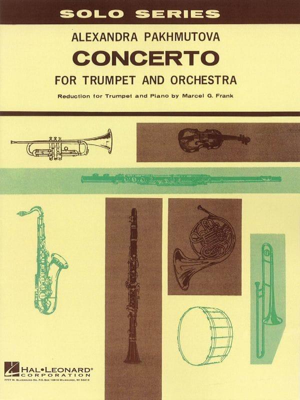 Concerto - Alexandra Pakhmutova - Partition - laflutedepan.com