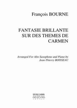 François Borne - Brilliant Fantasy - Sobre los temas de Carmen - Partition - di-arezzo.es