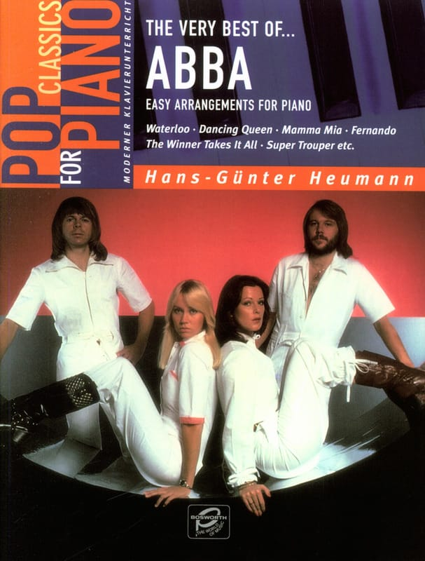 ABBA - Very Best Of Abba - Easy Piano - Partition - di-arezzo.co.uk