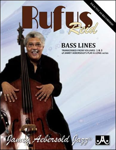 METHODE AEBERSOLD - Rufus Reid Bass Lines - Partition - di-arezzo.co.uk