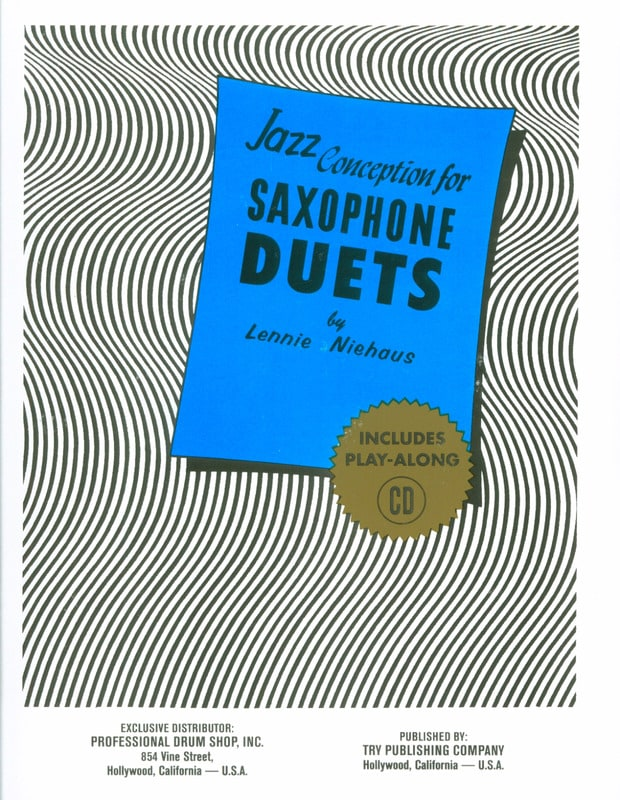 Lennie Niehaus - Jazz Design For Saxophone Duets - Partition - di-arezzo.com