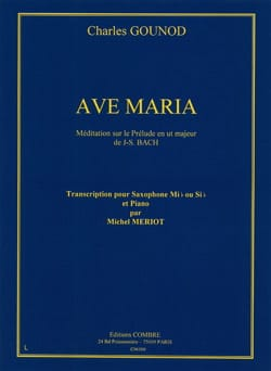Charles Gounod - Ave Maria - Partition - di-arezzo.co.uk