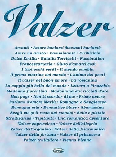 Valzer - Partition - Musique du monde - laflutedepan.com