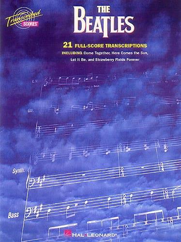 21 Full Scores Transcriptions - BEATLES - Partition - laflutedepan.com