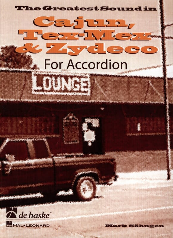 Cajun, Tex-Mex & Zydeco - Mark Sohngen - Partition - laflutedepan.com
