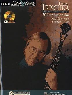 20 Easy Banjo Solos - Tony Trischka - Partition - laflutedepan.com