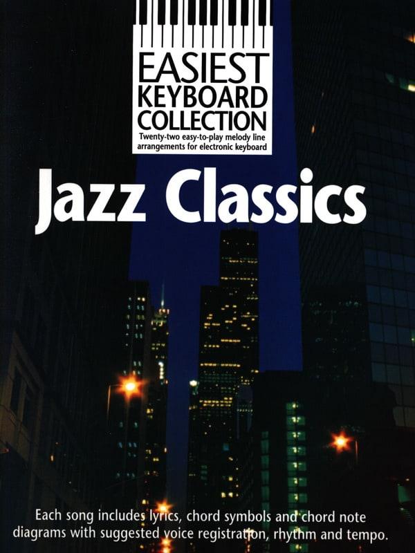 Easiest Keyboard Collection - Jazz Classics - laflutedepan.com