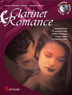 Clarinet & Romance - Partition - Clarinette - laflutedepan.com