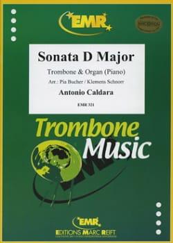 Sonata D Dur - CALDARA - Partition - Trombone - laflutedepan.com