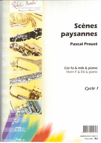 Pascal Proust - Scènes paysannes - Partition - di-arezzo.ch