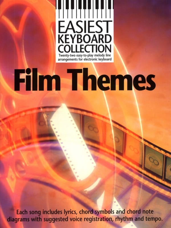Easiest Keyboard Collection - Film Themes - laflutedepan.com