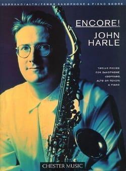 Encore ! - 12 Pieces - John Harle - Partition - laflutedepan.com