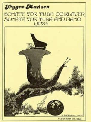 Trygve Madsen - Sonata for tuba Opus 34 - Partition - di-arezzo.fr