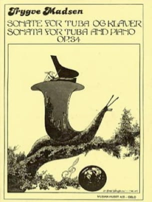 Sonata for tuba Opus 34 - Trygve Madsen - Partition - laflutedepan.com