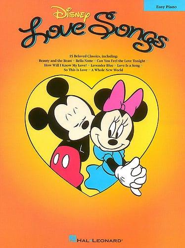 Disney Love Songs Easy Piano - DISNEY - Partition - laflutedepan.com