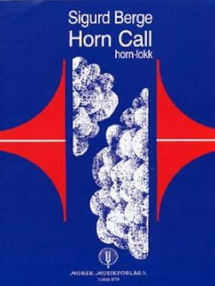 Horn Call - Sigurd Berge - Partition - Cor - laflutedepan.com