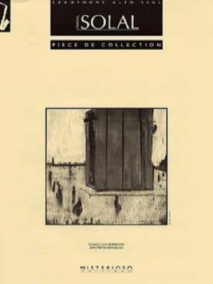 Pièce de Collection - Martial Solal - Partition - laflutedepan.com