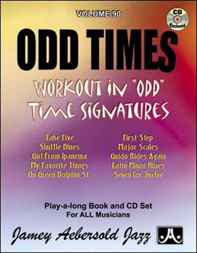 Volume 90 - Odd Times - METHODE AEBERSOLD - laflutedepan.com