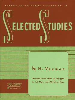 Selected Studies - H. Voxman - Partition - Tuba - laflutedepan.com