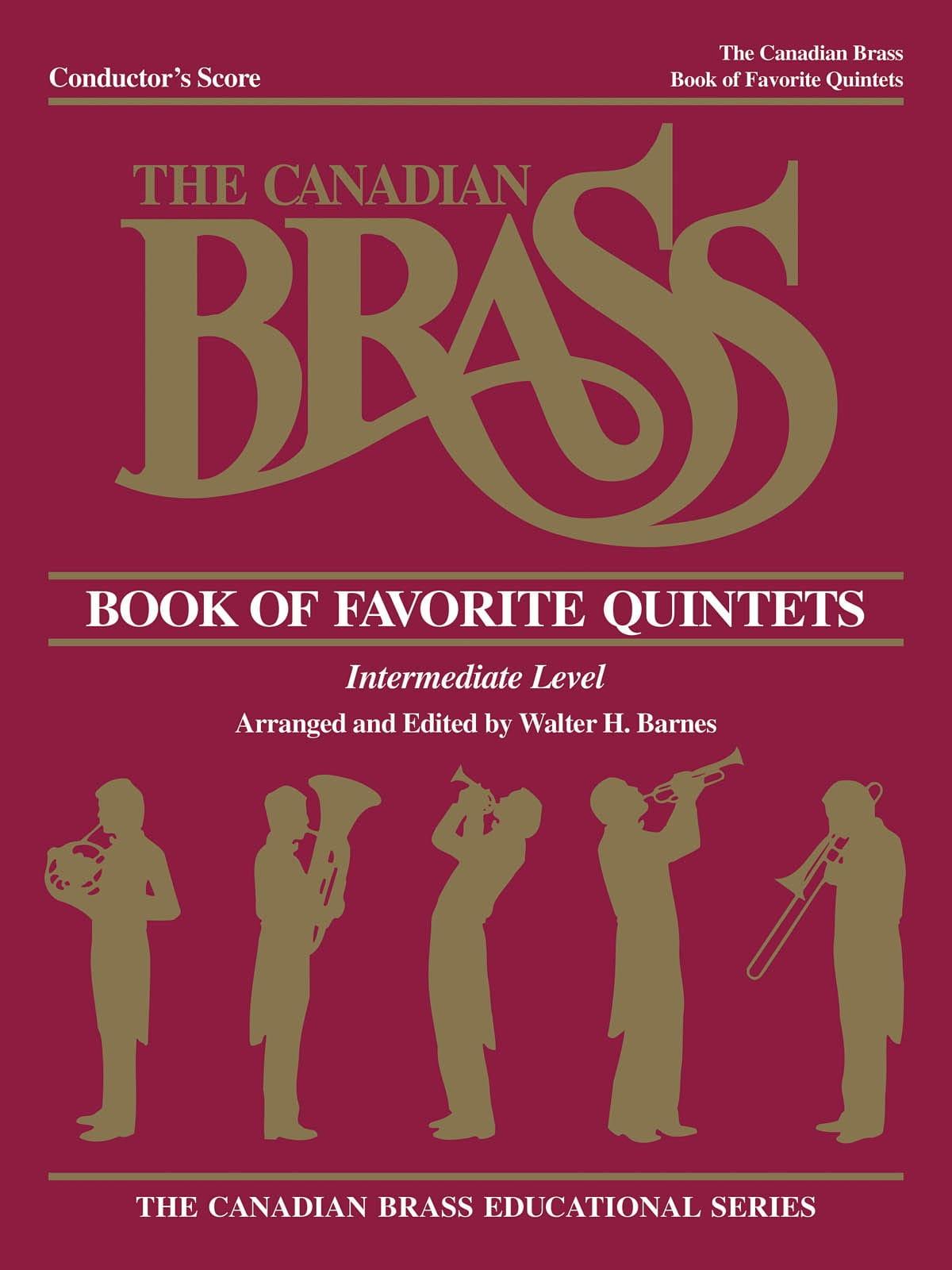 Book Of Favorite Quintets - Canadian Brass - laflutedepan.com