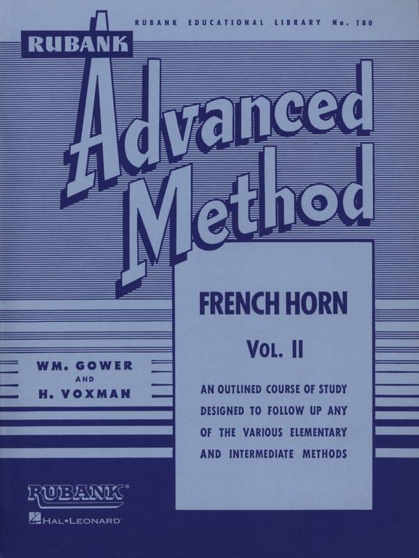 Himie Voxman & WM. Gower - Advanced Method Volume 2 - Partition - di-arezzo.com