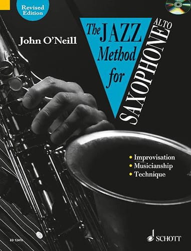 The Jazz Method For Saxophone - Neill John O' - laflutedepan.com